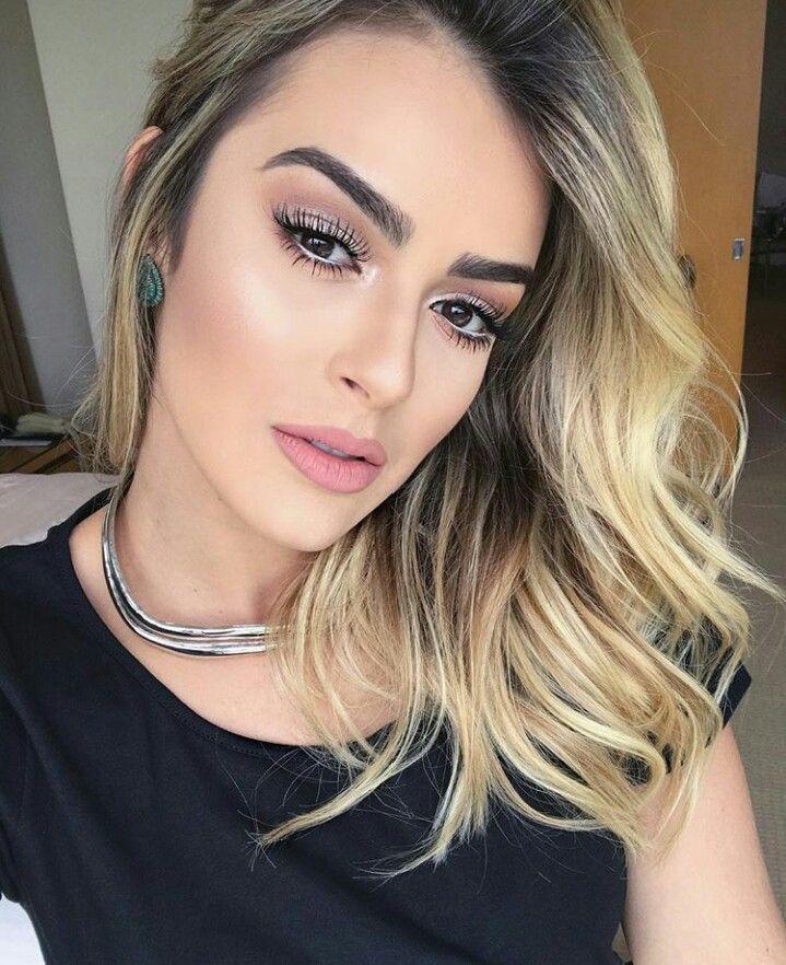 @blogbrunalucena #makeup #maquiagem #loiras #marianasaad #makeleve