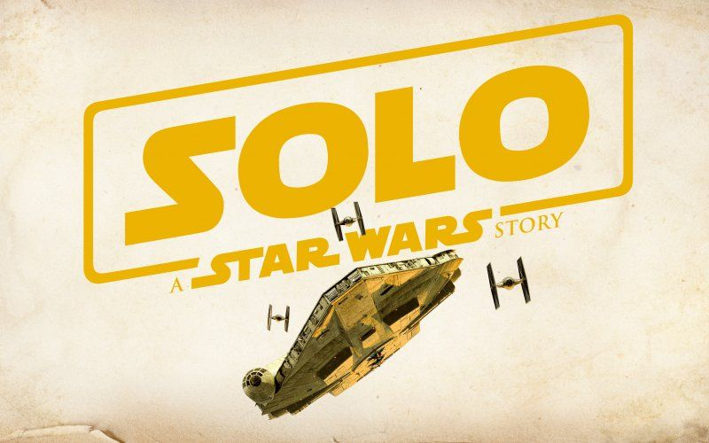Wallpaper Solo A Star Wars Story 2018 Movie Typo Logo War Stories Star Wars Star Wars Wallpaper