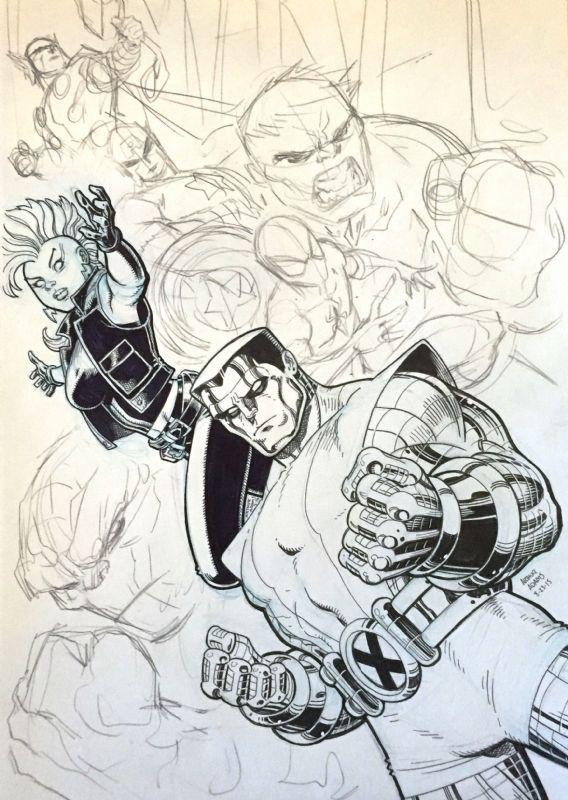 Jam - Favorite Marvel Characters - Arthur Adams, in DavidChiscon's Jam - Favorite Marvel Characters - Arthur Adams Comic Art Gallery Room - 1306268