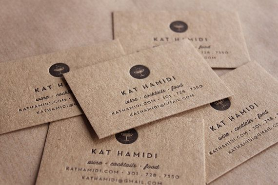 Unavailable Listing On Etsy Recycled Paper Business Cards Kraft Business Cards Letterpress Business Cards