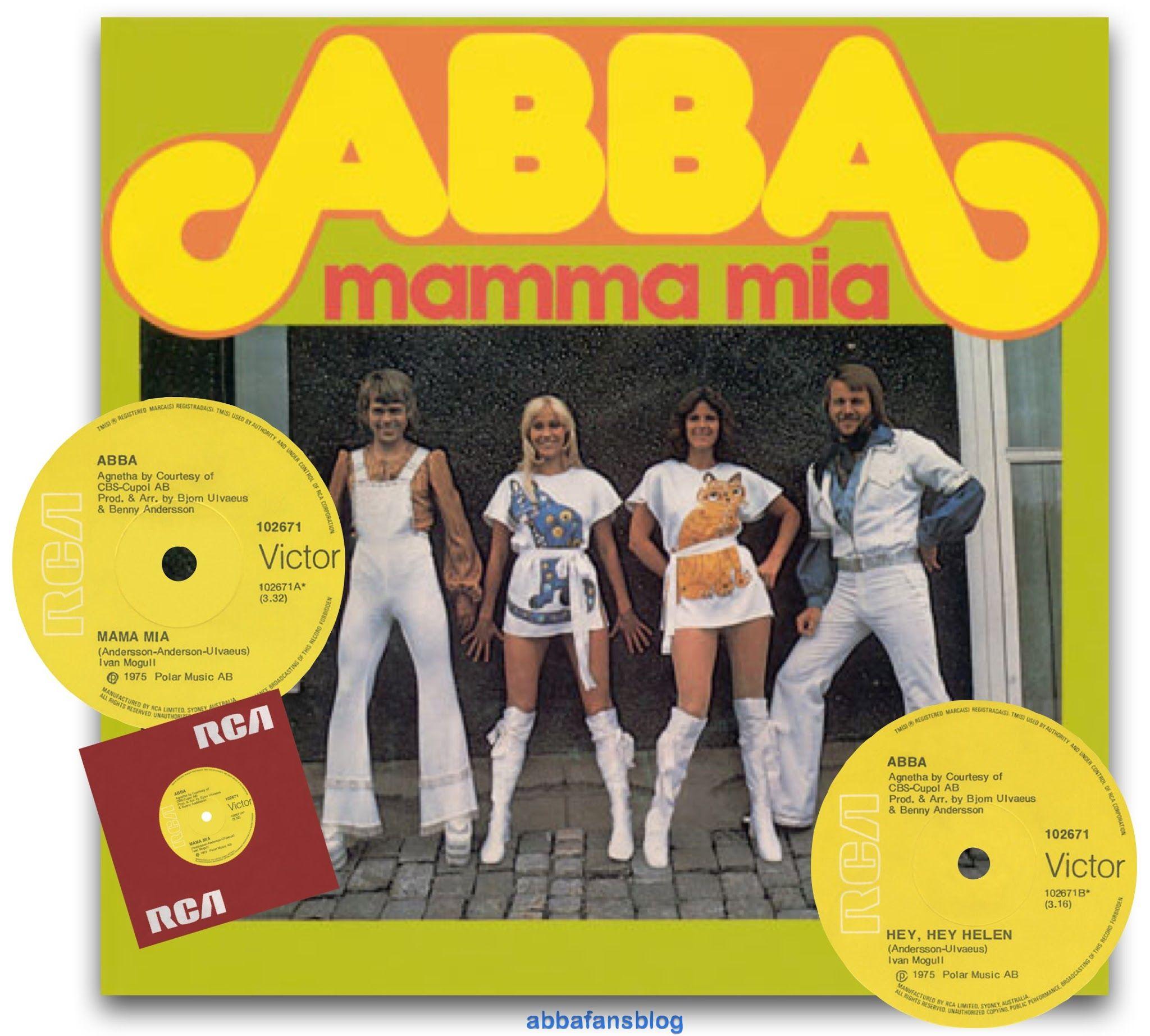22nd September 1975 Album Covers Mamma Mia 80s Album Covers