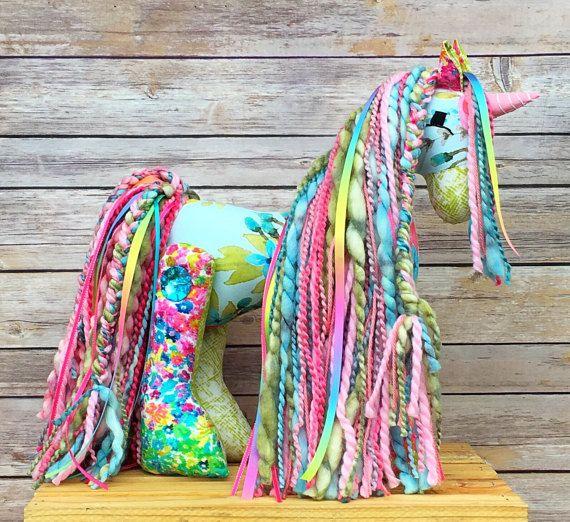 Unicorn stuffed animal girl horse gift stuffed pony plush unicorn stuffed animal girl horse gift stuffed pony plush negle Images