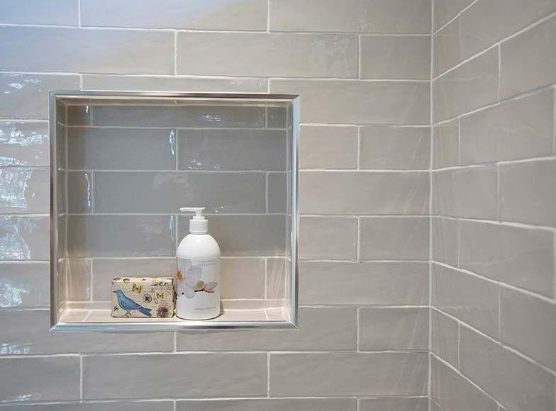 Masia Gris Claro In 2019 Tile Shower Niche Kitchen
