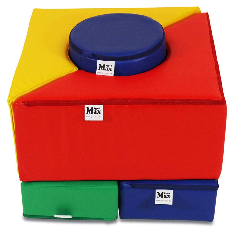 xxl kindergarten schaumstoff-bausteine max 5 elemente grundsatz