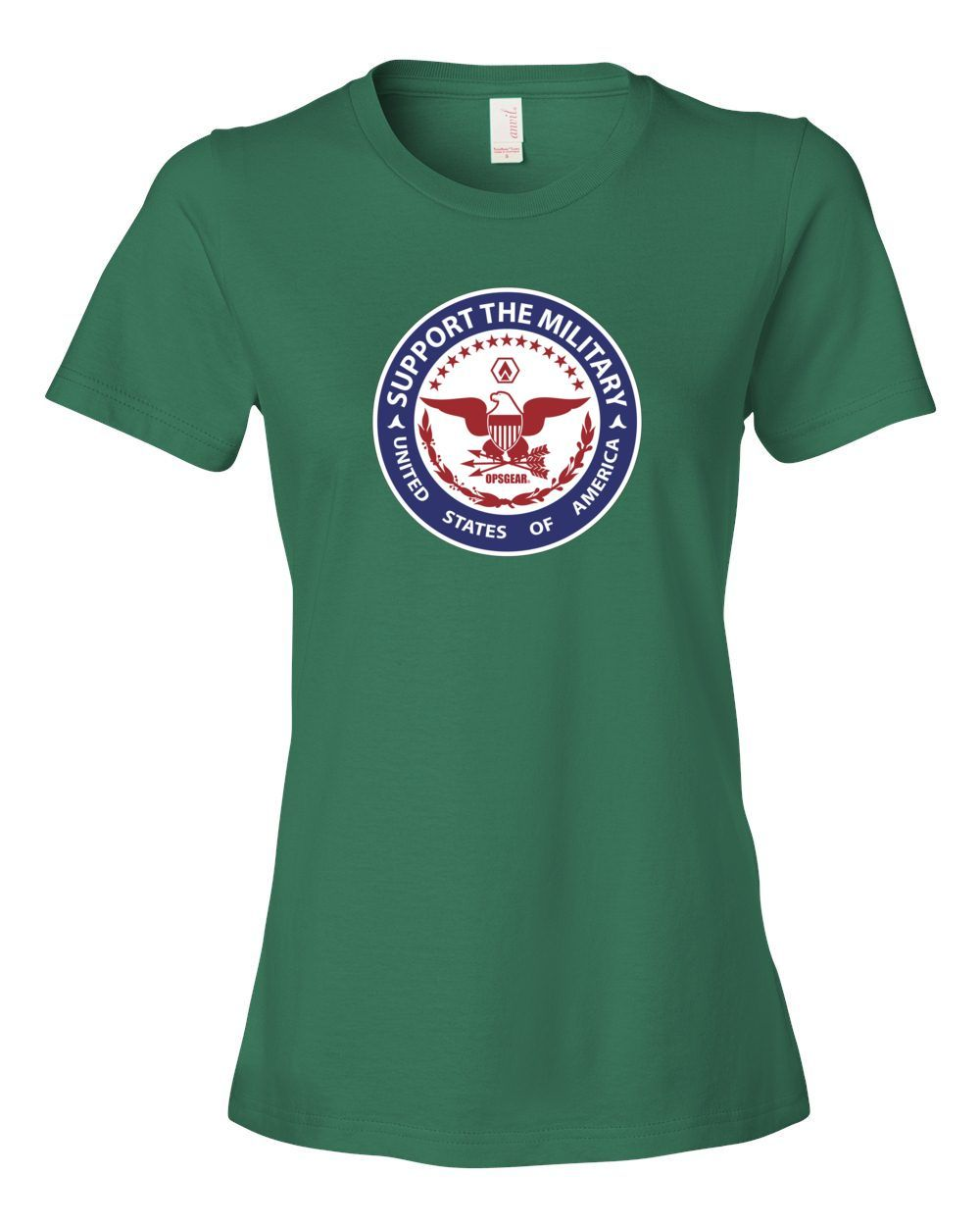 Ladies Support the Military T-Shirt