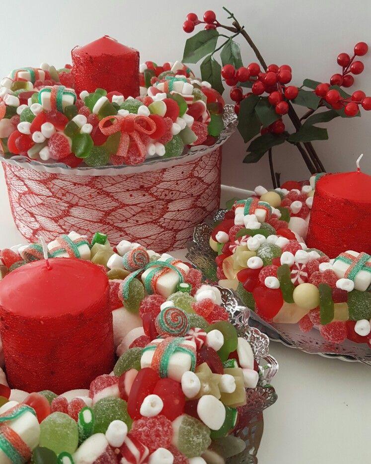Centros de chuches para endulzar tu mesa navide a - Centro de mesa de chuches ...
