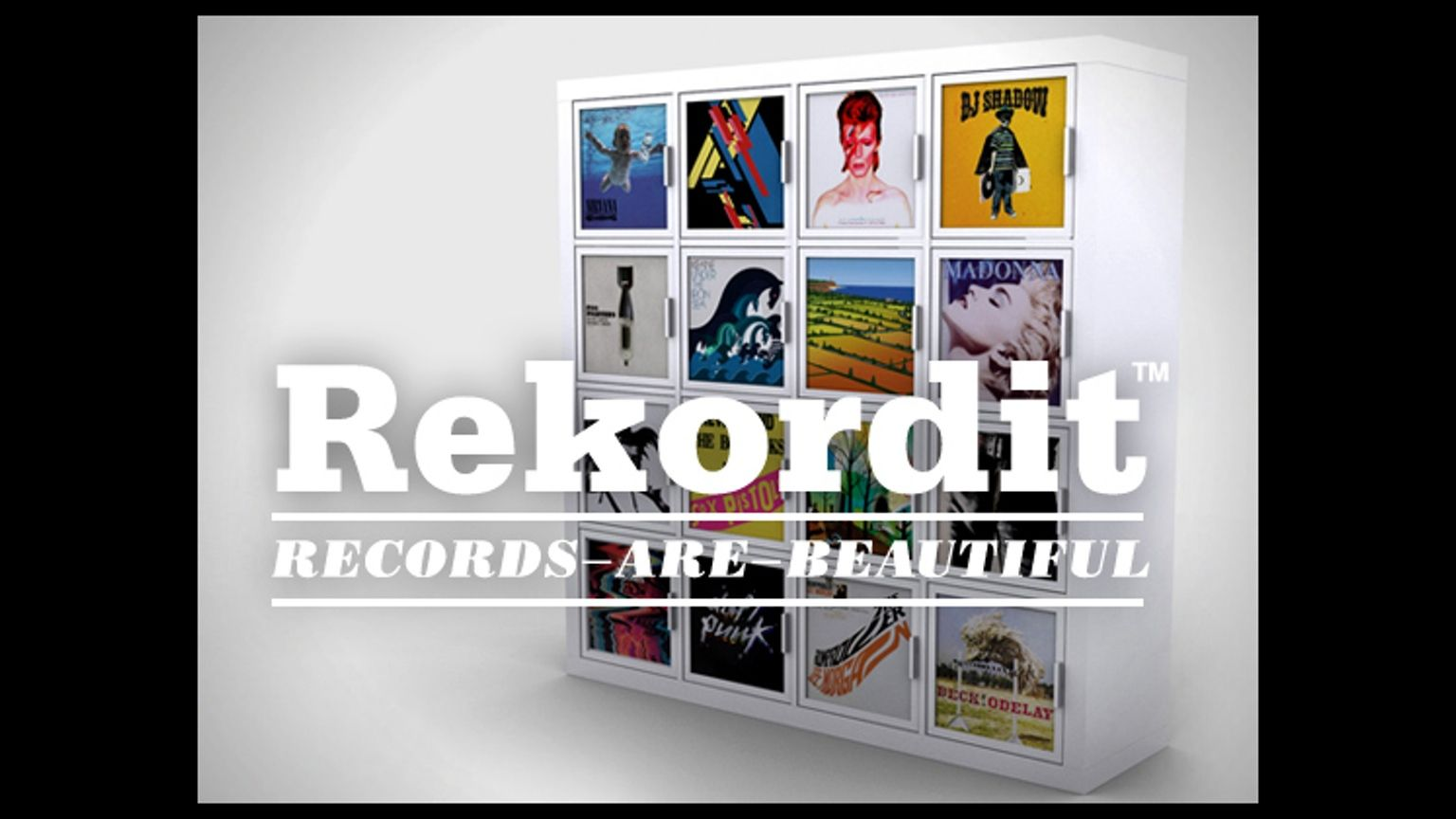 A add on frame for inserting and displaying  record sleeves! Designed to fit the Expedit™ shelving system.