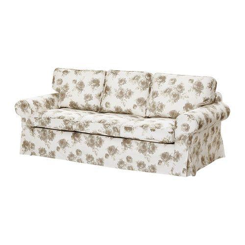 Ektorp h vet divano letto a 3 posti norlida bianco beige for Divano letto bianco