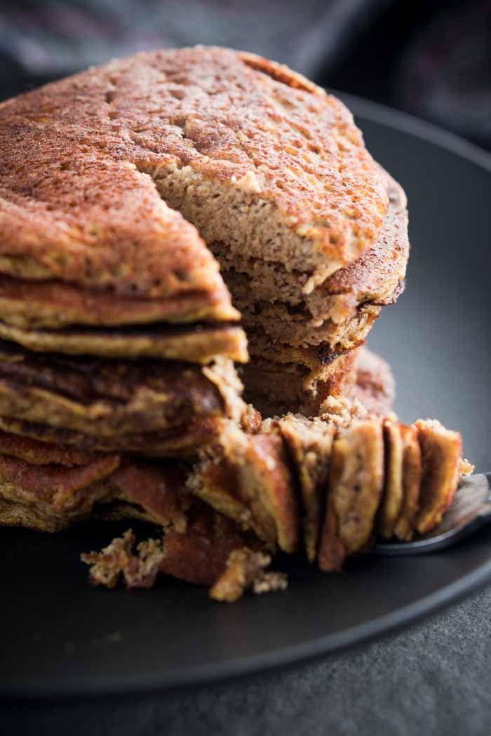 Keto Pumpkin Pancakes Recipe - Low Carb, Gluten Free, Comfort Food - Pumpkin on Keto Diet