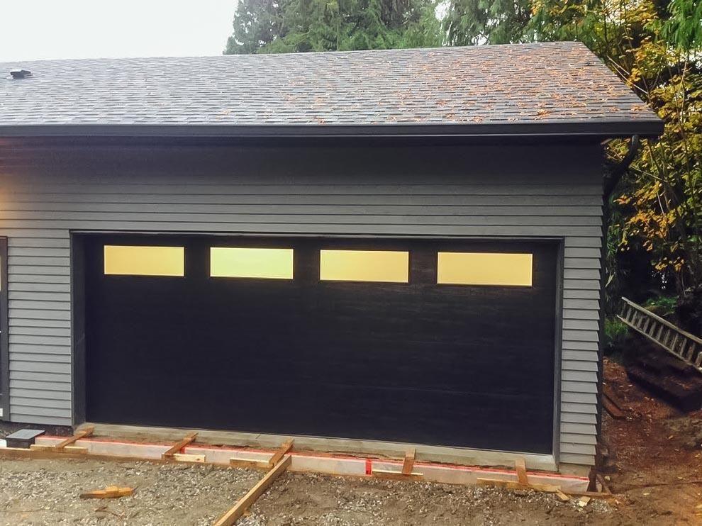 Gallery Of Clopay Garage Doors By J Mac Modern Garage Doors Garage Doors Modern Garage
