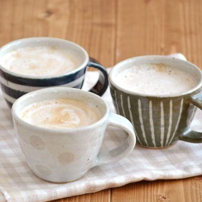 手造り土物のマグカップ