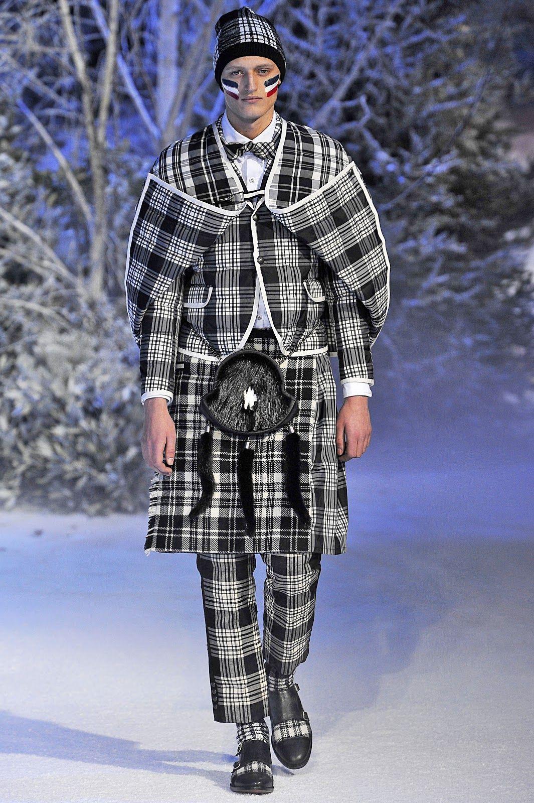 Standard Deviation - Fashion. Design. Culture. Art. Myko.: Moncler Gamme Bleu Fall / Winter 2013 Menswear Runway