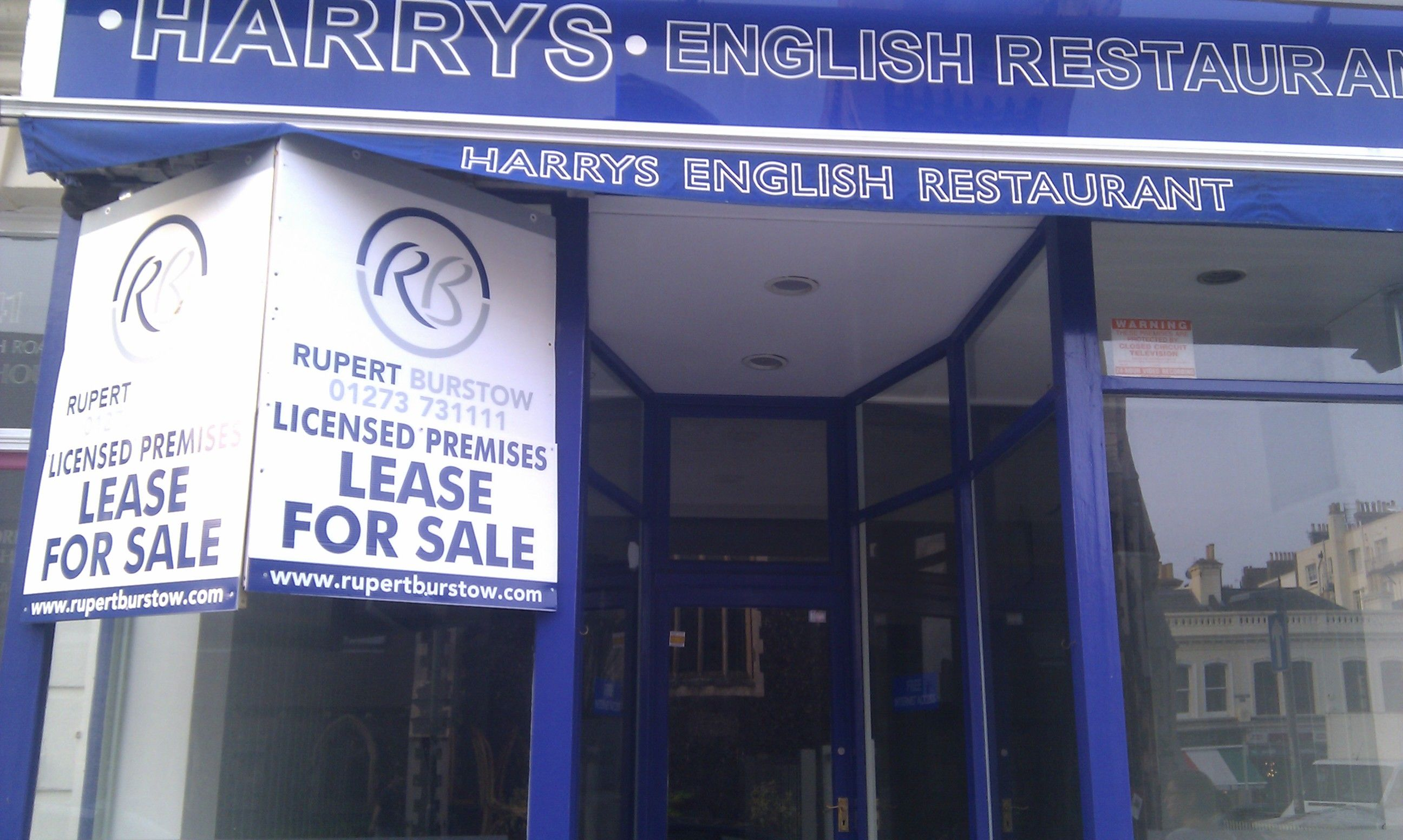 The end of an institution; Harry's closes down. Sad days :(