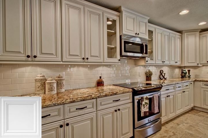 All White Kitchen Backsplash Ideas Whitecabinets And