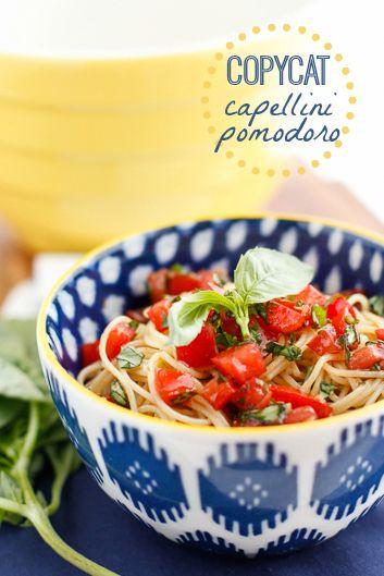 Copycat Olive Garden Capellini Pomodoro Recipe This Copycat Capellini Pomodoro Is One Of My