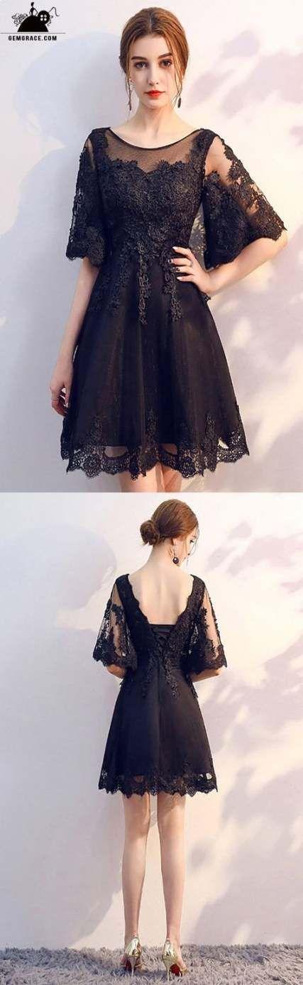 26 Super Ideas For Dress Prom Short Black Classy #shortblackhomecomingdresses
