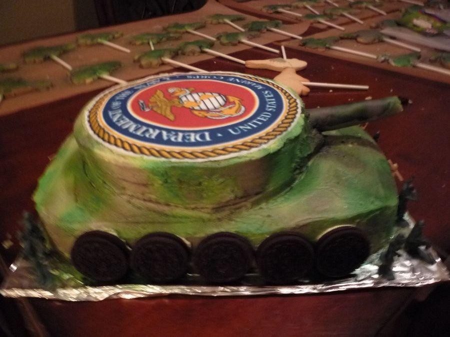 Marine Corps Birthday Cake Cake For Grandsons 5th Birthday