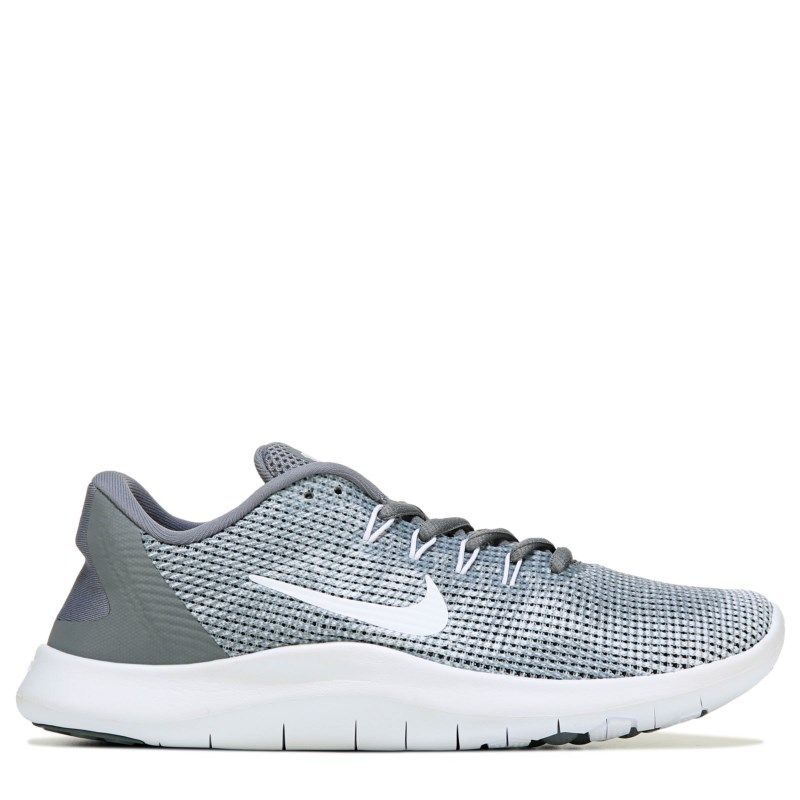 ec9451468c7ca0 Nike Women s Flex Run 2018 Running Shoes (Grey White) in 2019 ...