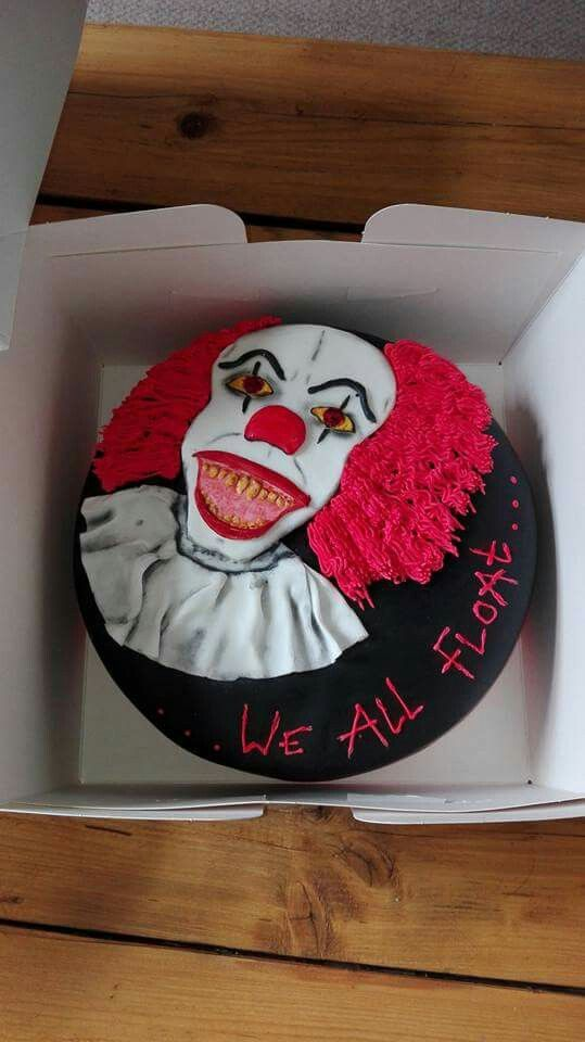 Pennywise It Cake Cakes Halloween Cakes Scary