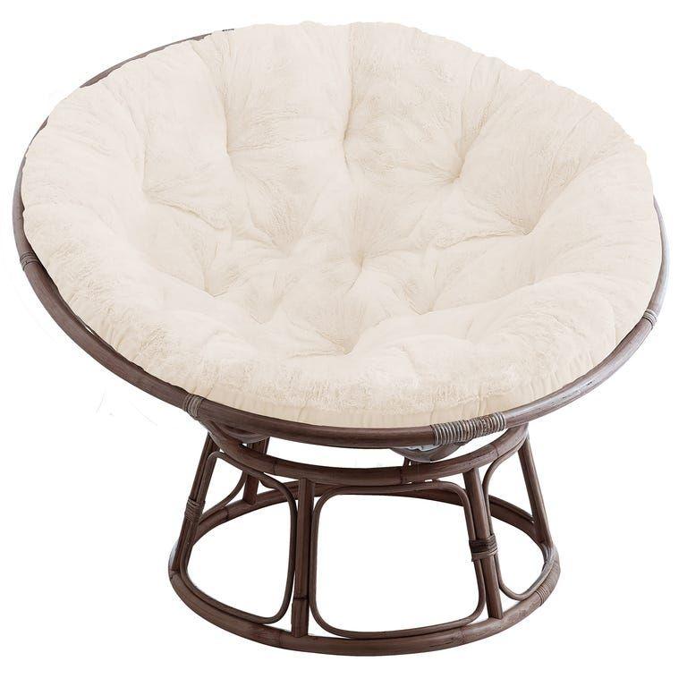 Papasan Chair Frame With Cushion In 2020 Papasan Chair Chair
