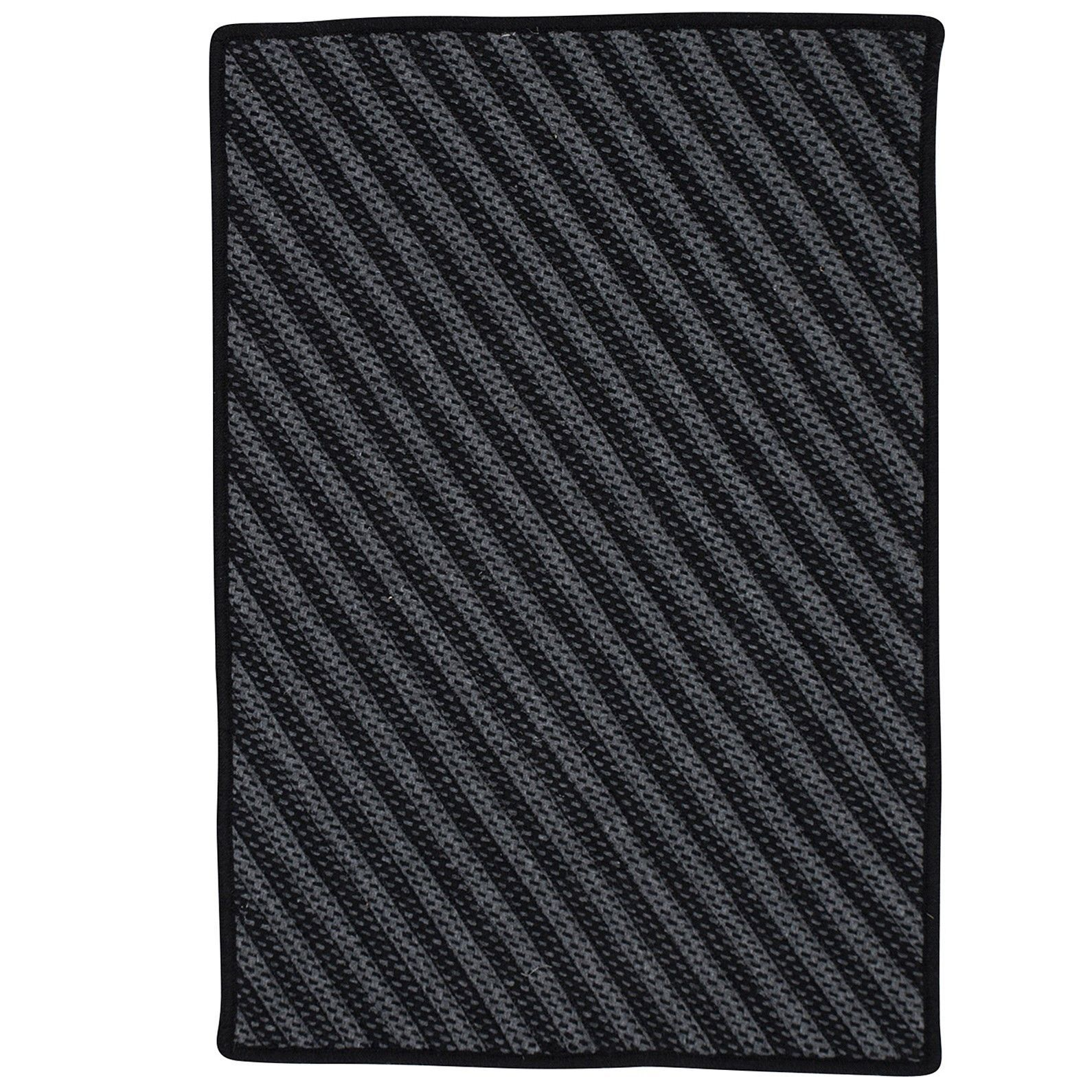 Ommegang Hand-Woven Black Area Rug