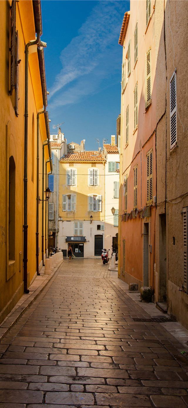 Saint Tropez France iPhone X wallpaper Android wallpaper