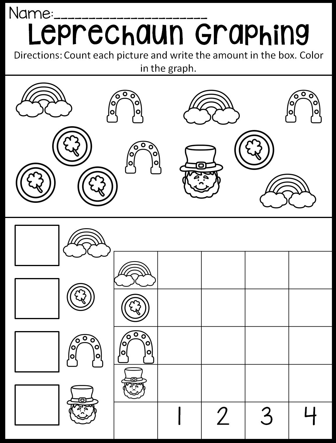 St Patrick S Day Preschool Theme In