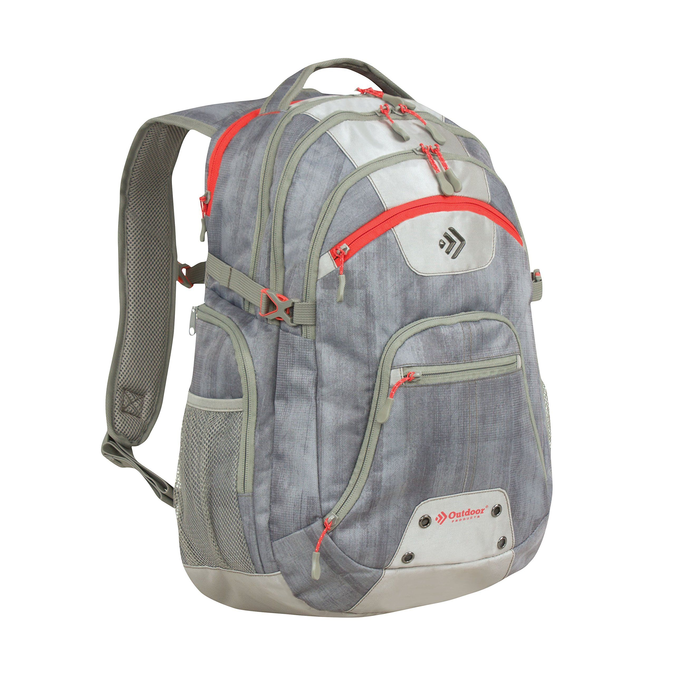 Outdoor Products Vector 2 0 Day Mesh Screen Backpack Heathered