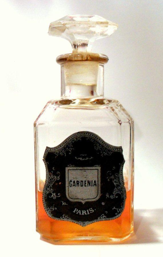 Antique 1880s Gardenia by Guerlain 4.2 oz Perfume by perfumefetish, $250.00