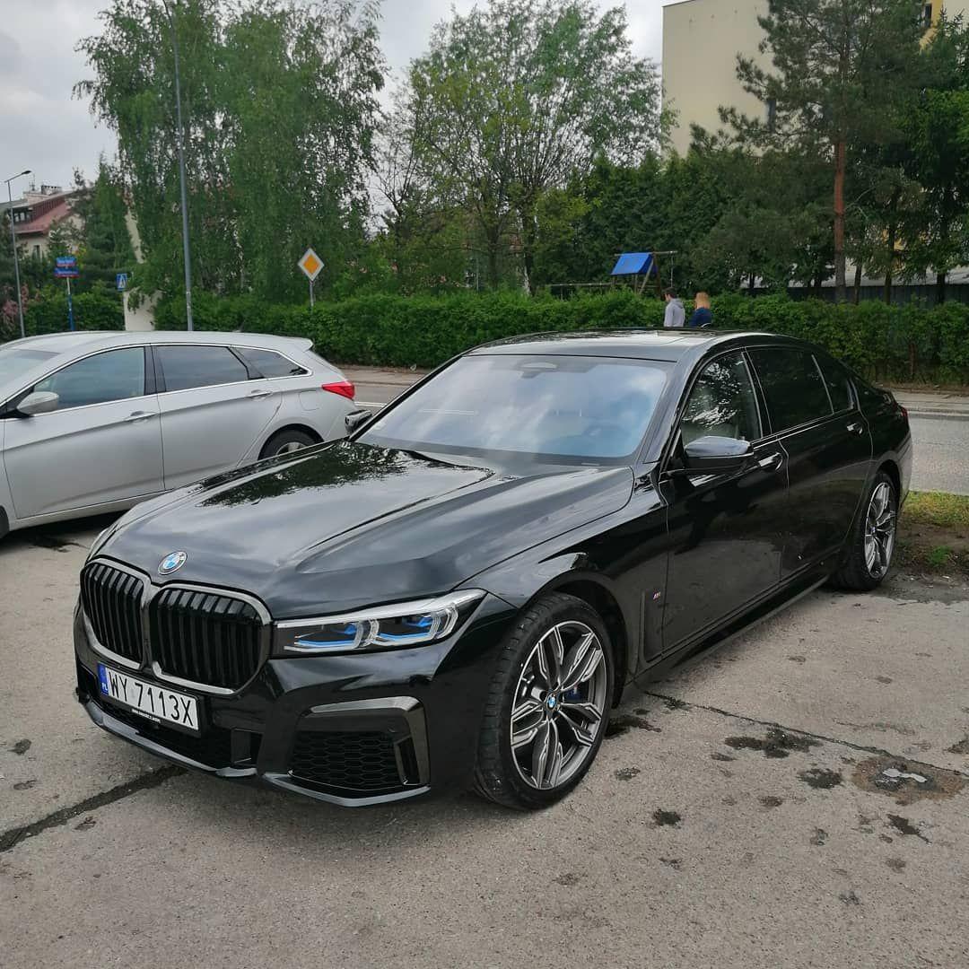 Czarny Bandyta Bmw M760li Cars Luxury Sportcar 7series