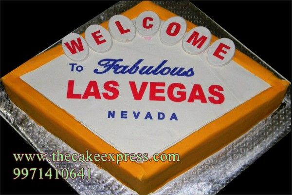 Enjoyable Las Vegas Cake Vegas Cake Themed Cakes Cake Funny Birthday Cards Online Inifofree Goldxyz