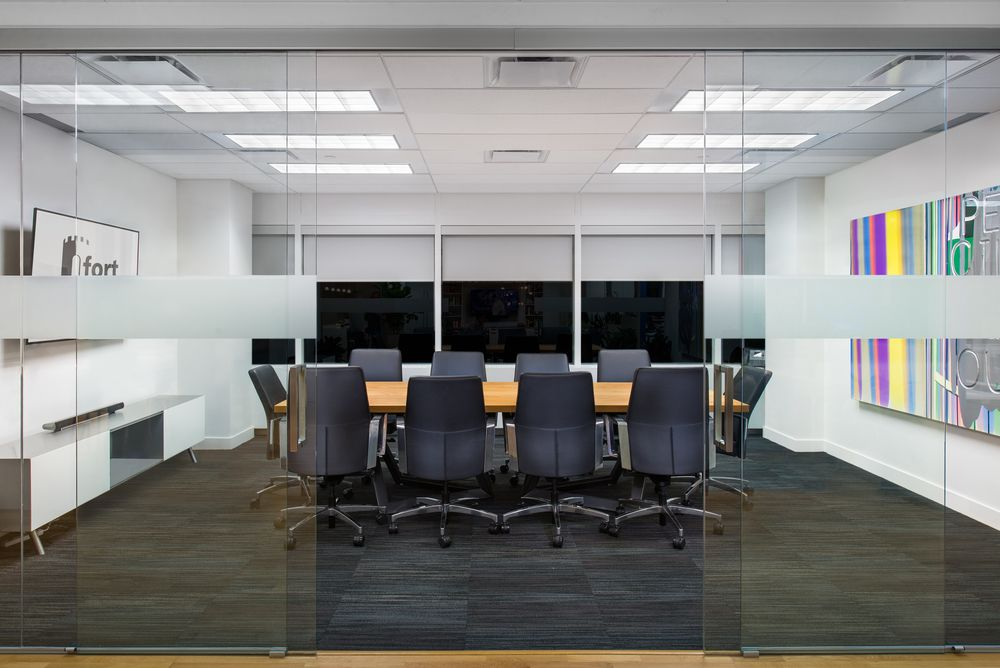 capital office interiors. Meeting Room At Fort Capital - Office Interior Design By SSDG Interiors Inc., Wood
