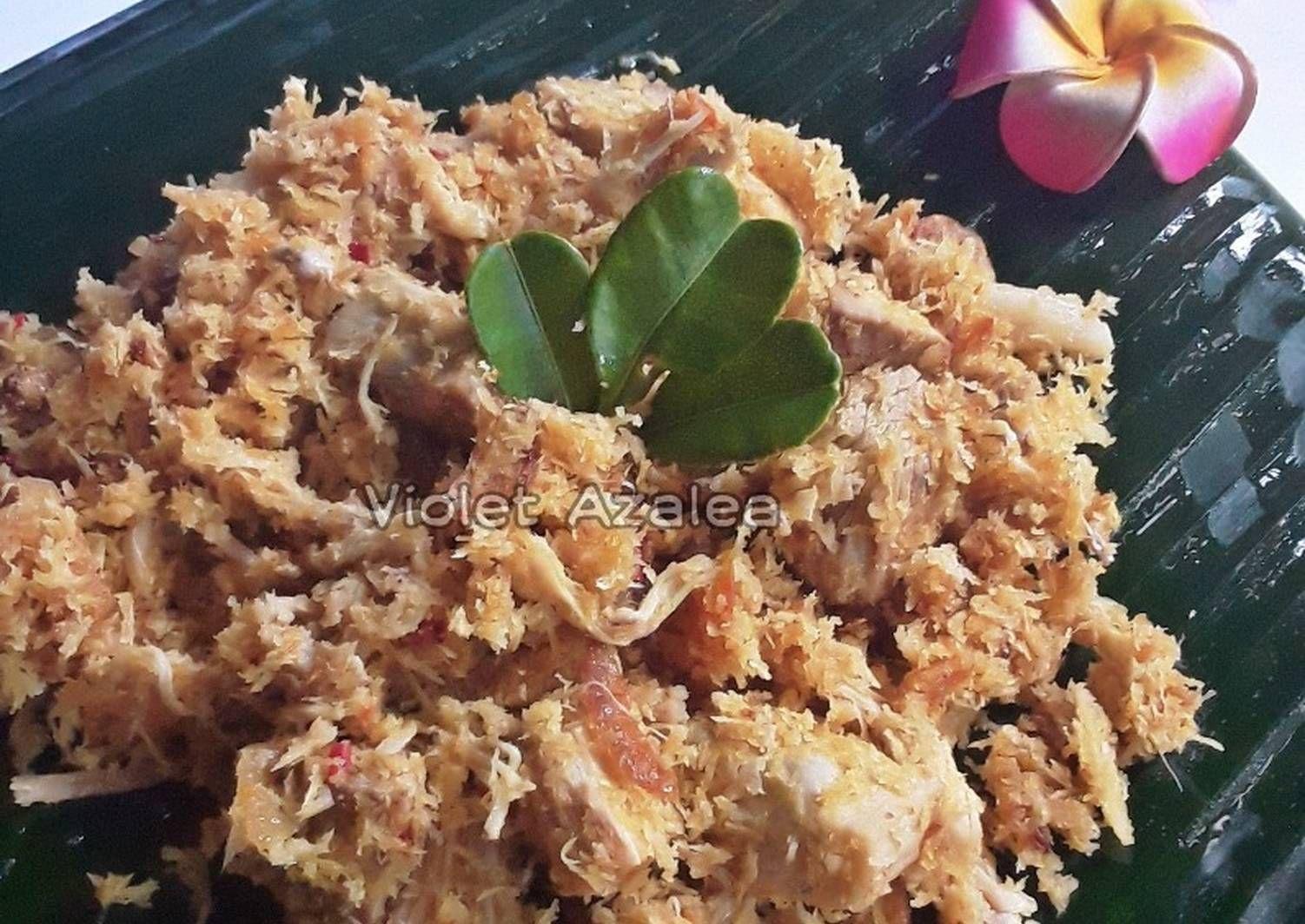 Resep Lawar Nangka Ayam Oleh Violet Azalea Resep Makanan Parutan Keju Ayam