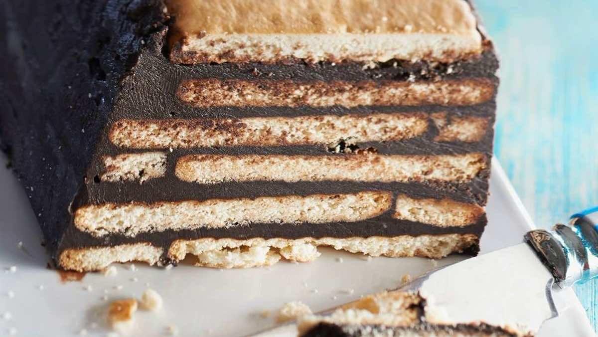 Gâteau au chocolat petit beurre / chocolat sans cuisson ...
