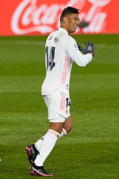 Casemiro Real Madrid Pictures And Photos Getty Images In 2020 Real Madrid Pictures Real Madrid Real Madrid Photos