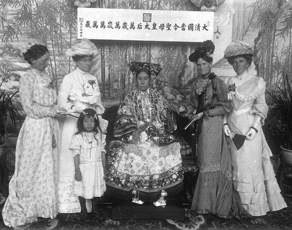 Empress Cixi | Empress dowager cixi. Women in china. Portrait