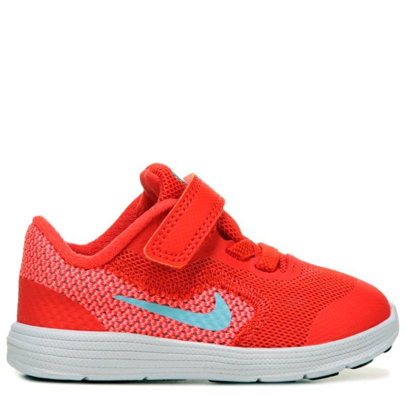 huge selection of 333e1 43cc5 Nike Kids  Revolution 3 Running Shoe Toddler Shoes (Max Orange Still Blu) -  7.0 M