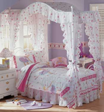 images of fairy bedrooms for little girls | Girls canopy beds | Trundle bed & images of fairy bedrooms for little girls | Girls canopy beds ...