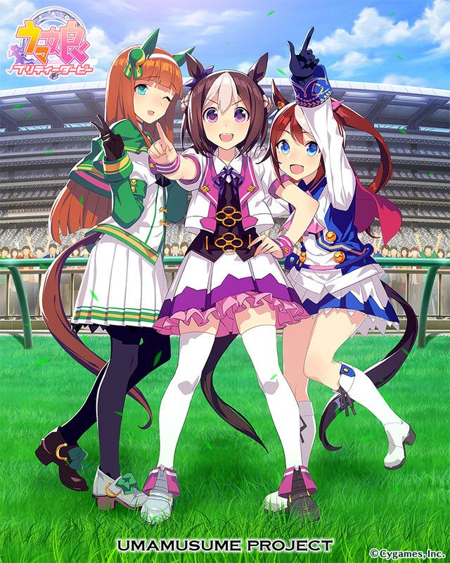 """Uma Musume Pretty Derby"" Gets Anime TV Series by P.A"