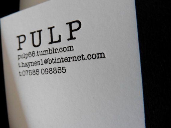 Personalised Letterpress Stationery Boxes by Pulp66 on Etsy