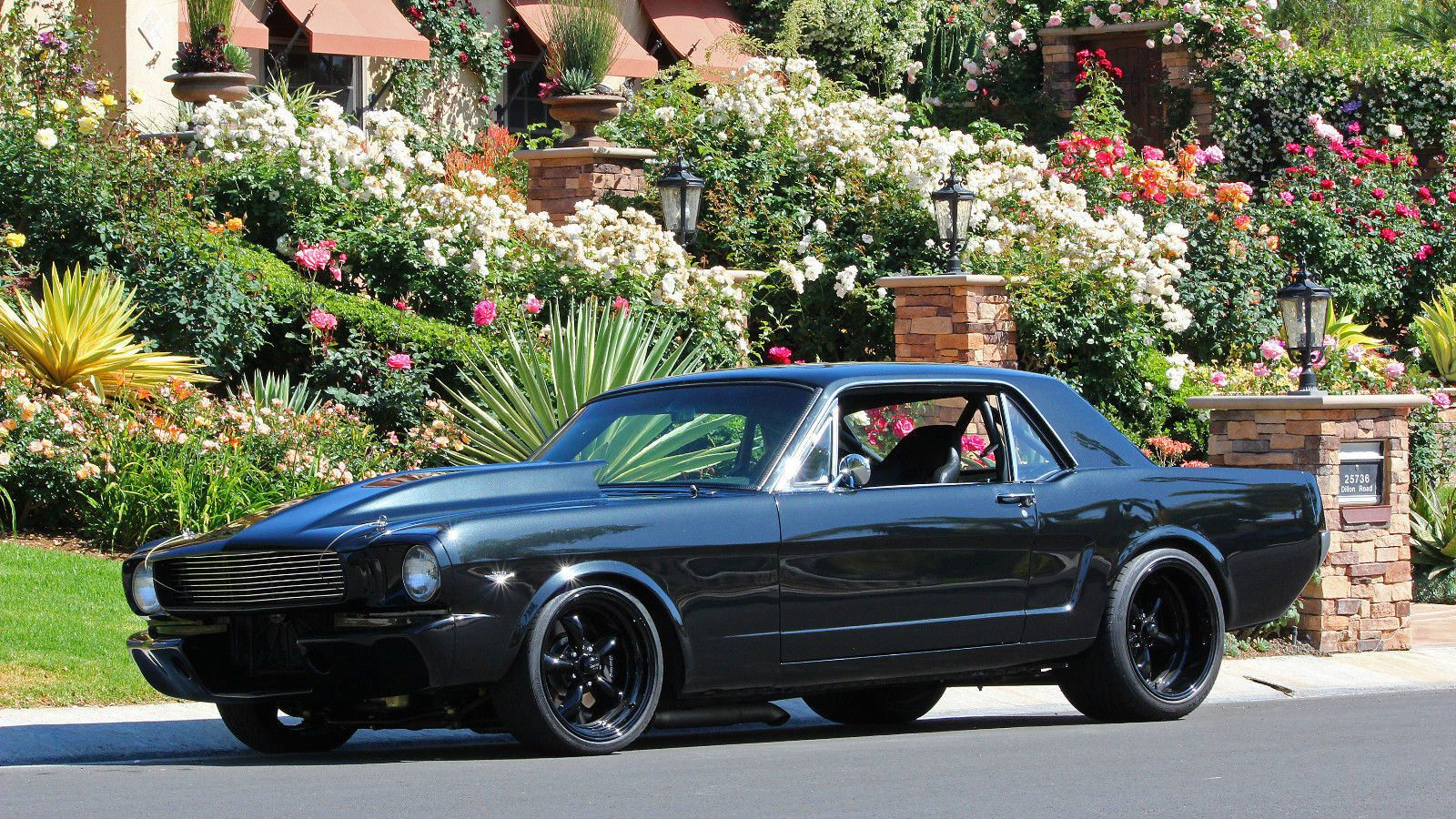 1966 Mustang Ab Werk Casablanca Inteli Touch Fan Wiring Diagram Pro Touring Hot Rod Muscle Car Et Pick Up