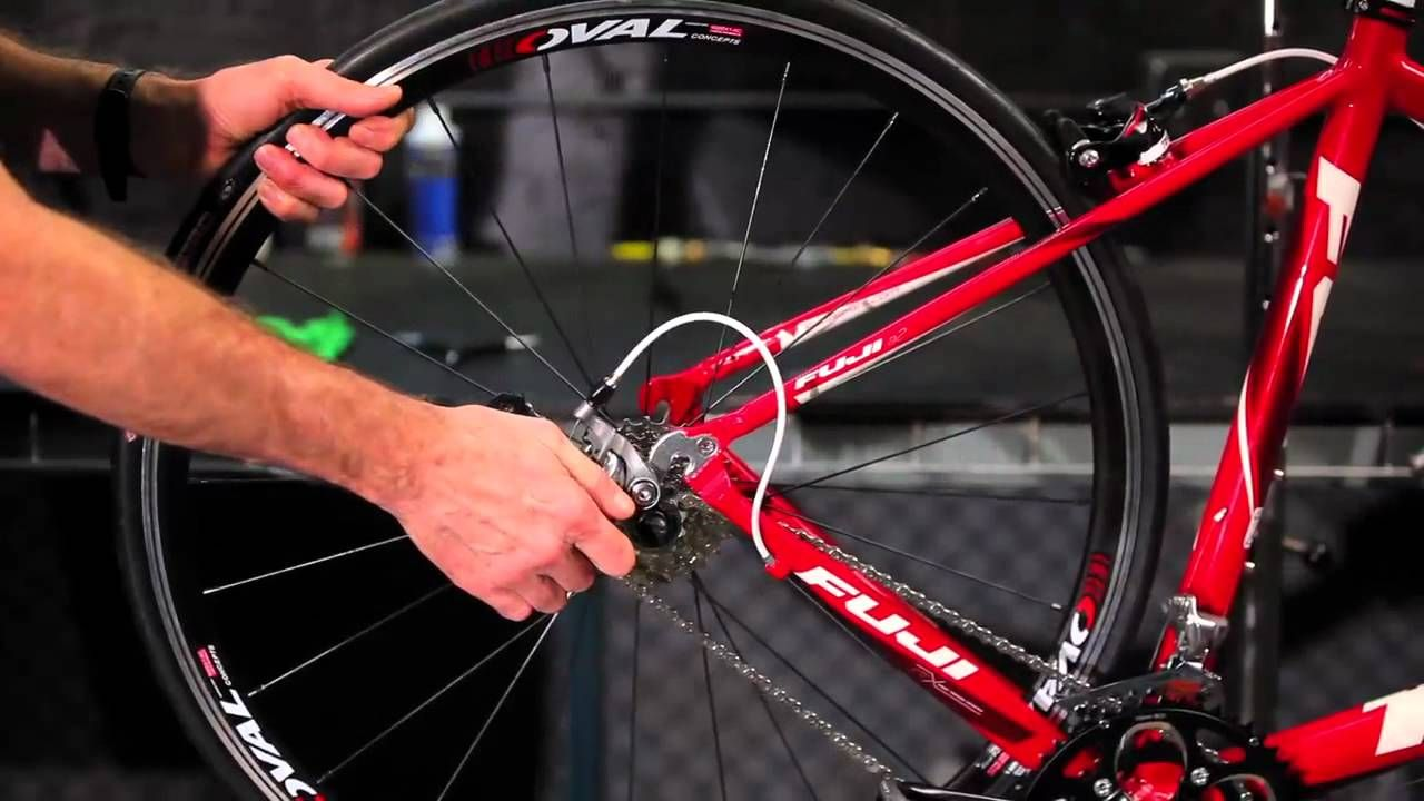 How To Remove And Install Quick Release Road Rear Wheels By