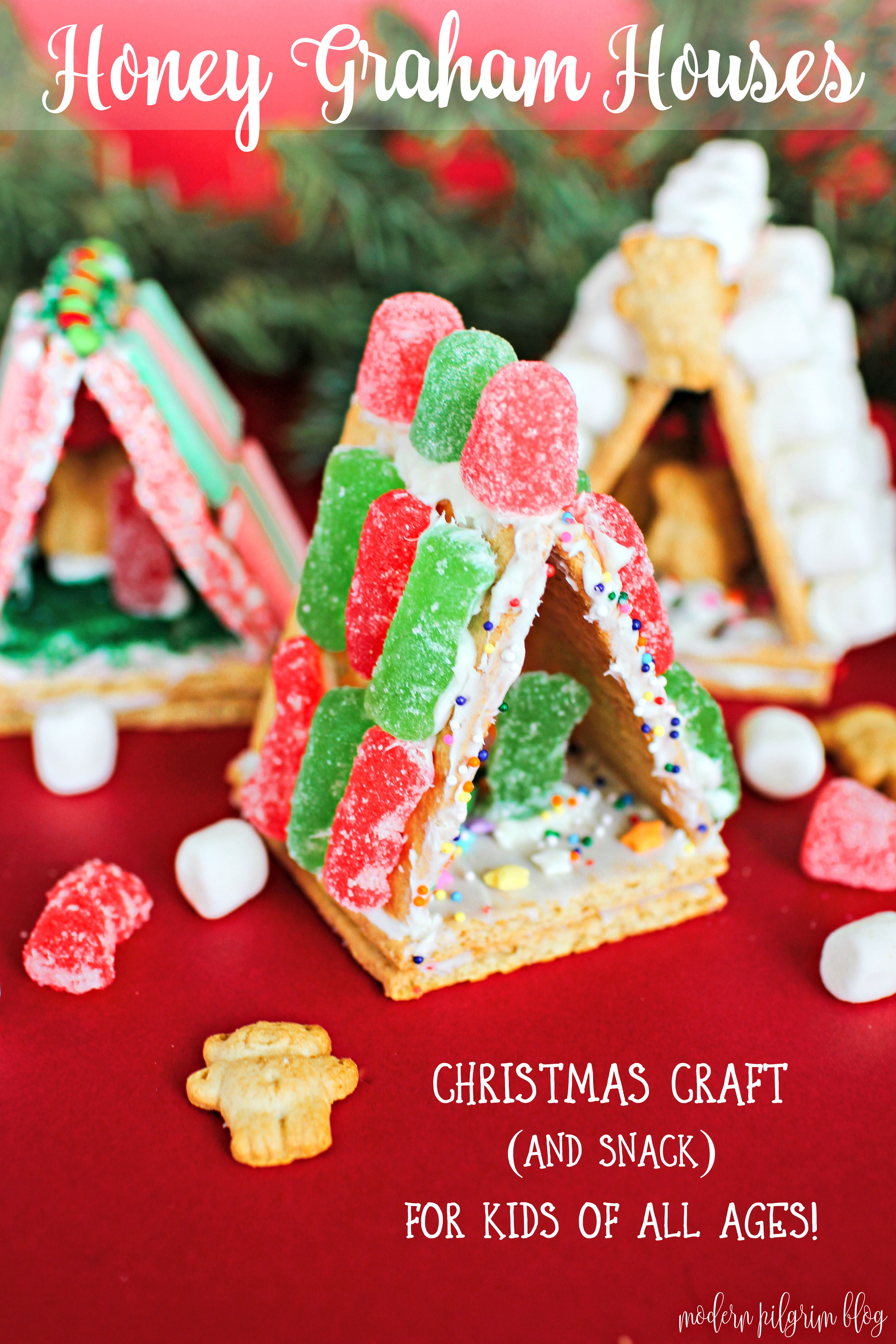 Mini Honey Maid Graham Cracker Houses Christmas