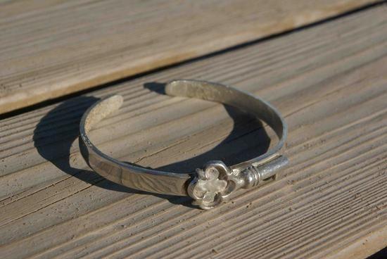 Pulsera de plata Clés de Esclatz en Craftual