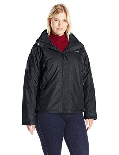 Columbia Women's Plus-Size Gotcha Groovin Jacket, Purple Dahlia Emboss,