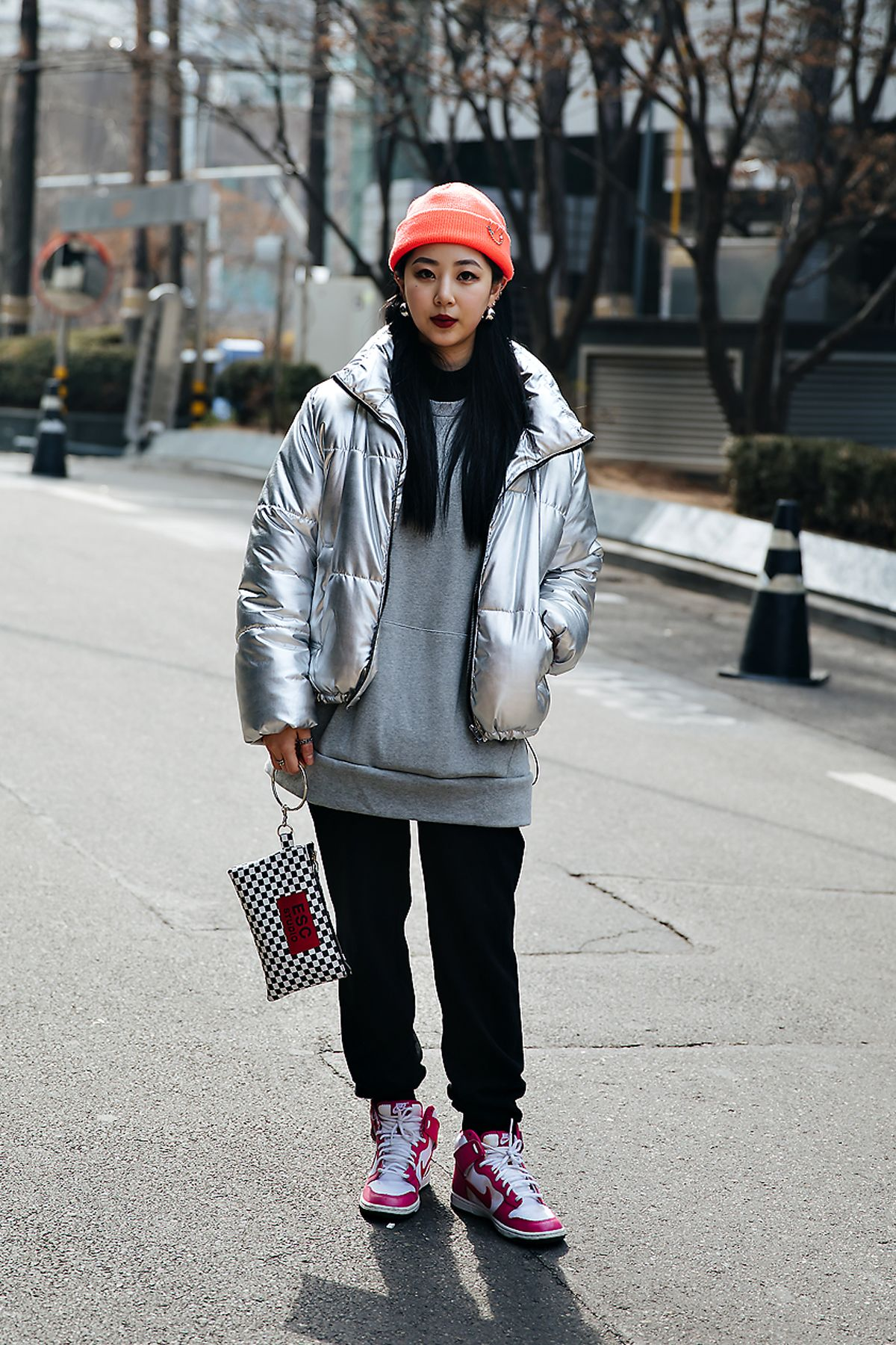 Choi Eunha, Street style women winter 2017-2018 in seoul