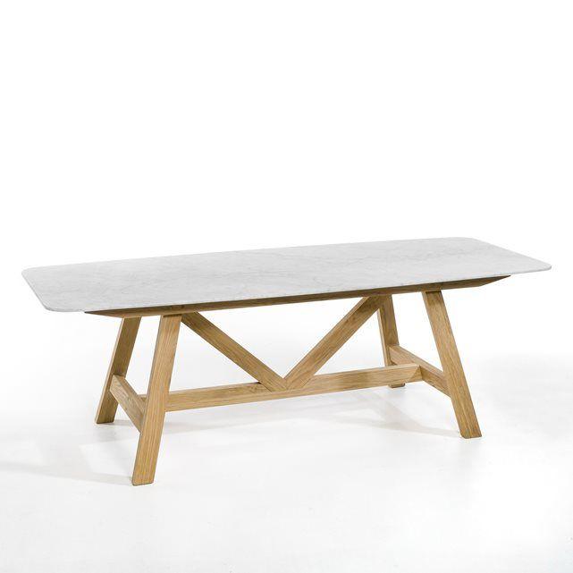 Table Plateau Marbre Buondi Design E Gallina Am Pm La Redoute