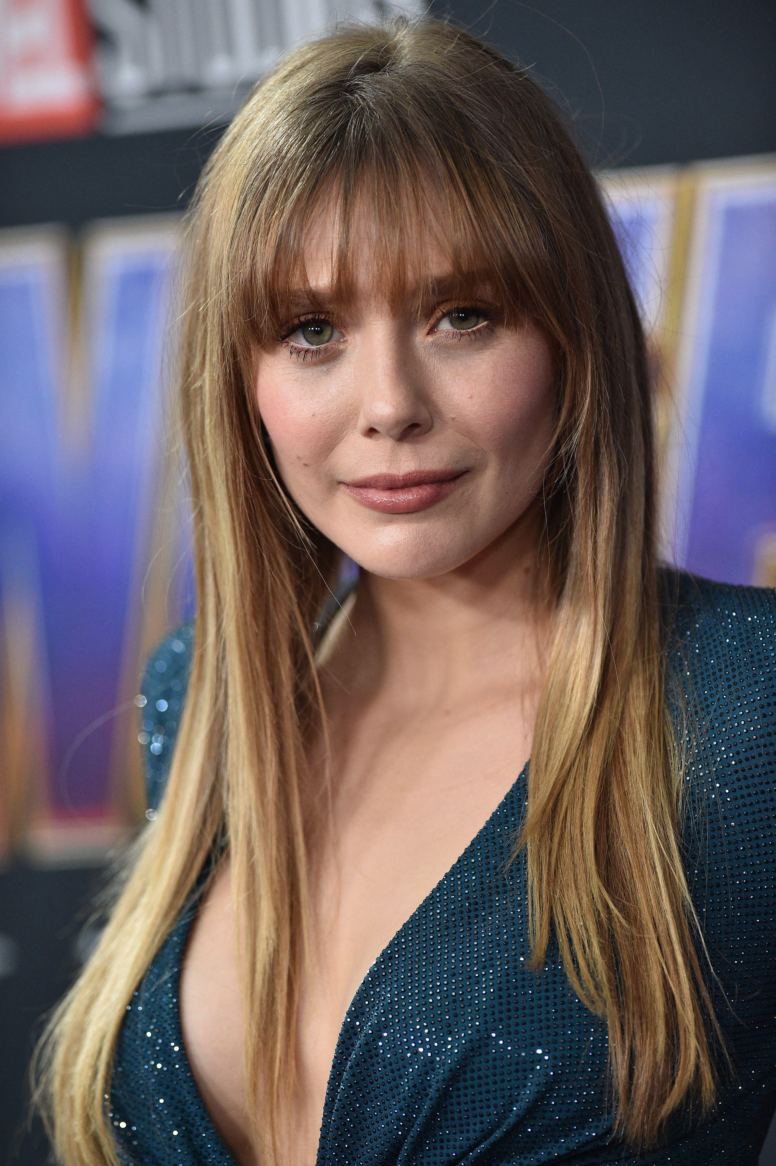 Elizabeth Olsen April 22 Avengers Endgame World Premiere In Los Angeles Actrices Bonitas Actrices Celebridades