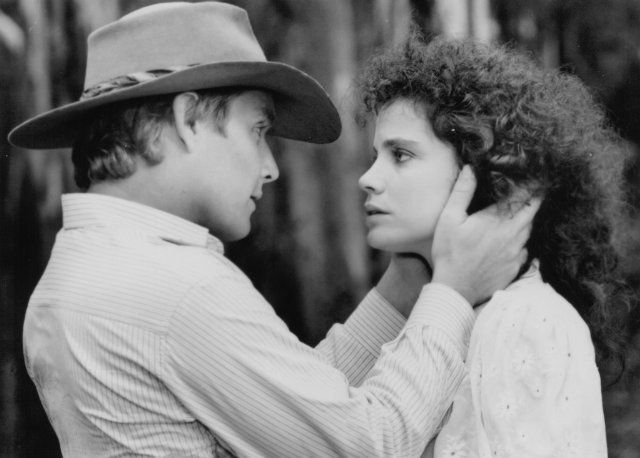 Tom Burlinson and Sigrid Thornton in Return to Snowy River ...