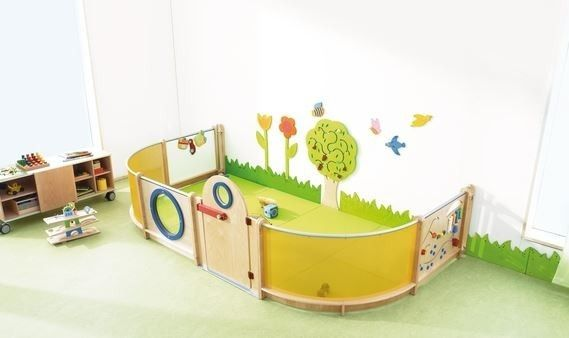 Haba children 39 s room divider partition wall combo 4 for Room dividers kids
